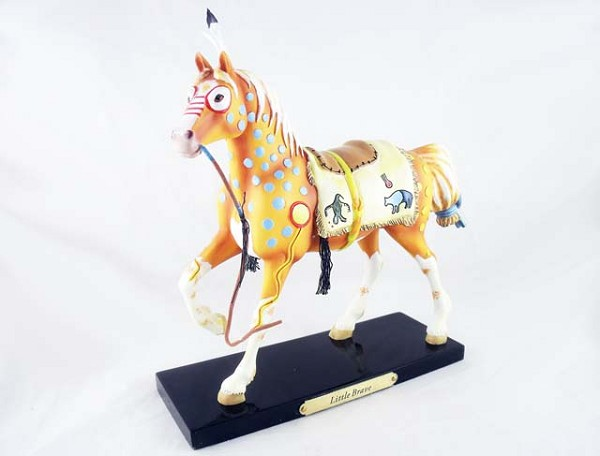 Little Brave - 1E - Summer 2010 Trail of Painted Ponies - Native American Tribal Collection - Resin Figurine - Retired