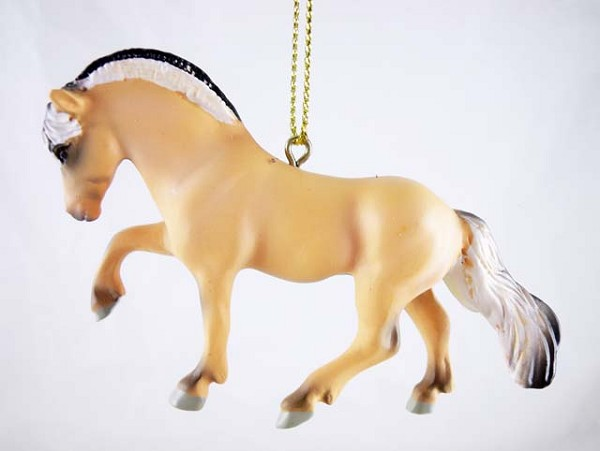 Little Big Horse -Hanging Resin Ornament - 2017 Collector's Choice -Trail of Painted Ponies
