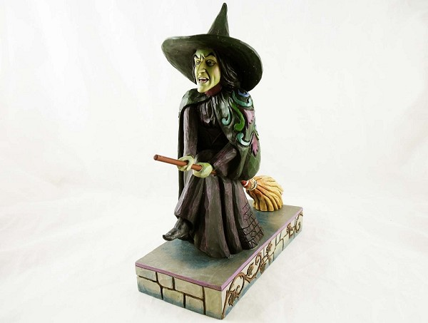 "Wicked Witch of the West - ""I'll Get You My Pretty"" - Wizard of Oz by Jim Shore - Resin Figurine"