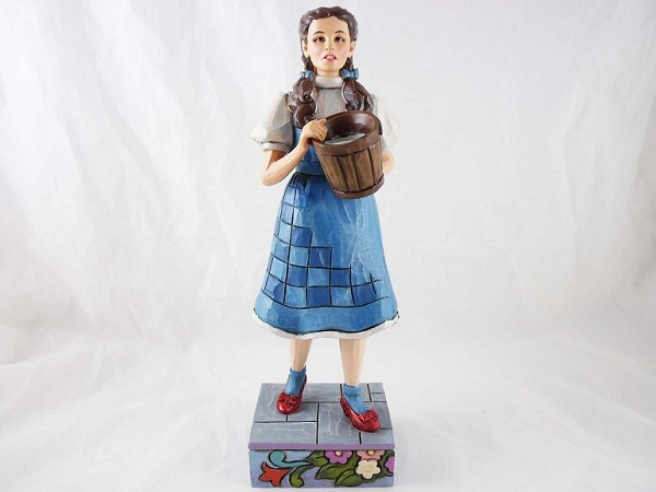 """My Goodness"" - Dorothy w/ Water Bucket - Wizard of Oz by Jim Shore - ResinFigurine"